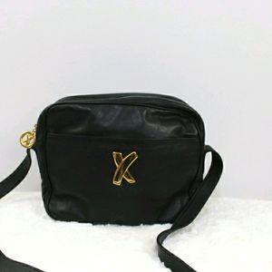 Paloma Picasso vintage logo designer shoulder bag